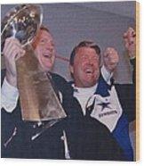 Dallas Cowboys 1992 National Football League Champions Wood Print