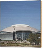 Dallas Cowboys Stadium Wood Print