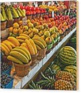 Dallas Farmers Market 2 Wood Print