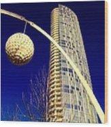 Dallas Museum Tower Wood Print