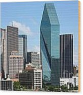 Dallas Texas Wood Print
