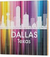 Dallas Tx 2 Wood Print