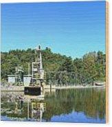 Dam Power Wood Print