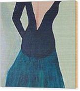 Dame De L'opera Wood Print