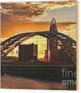 Dan C Beard Bridge 9917 Wood Print