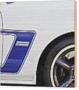 Dan Gurney 2009 Ford Mustang Wood Print