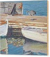 Dana Point Harbor Boats Wood Print