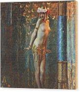 Dance De Salome Wood Print