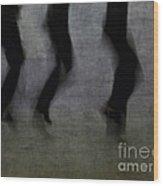 Dance Wood Print