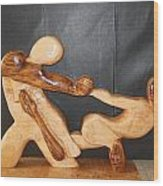 Dance Of Escape Wood Print