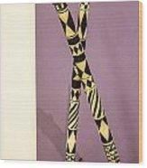 Dance Sticks Wood Print