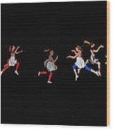 Dance Warhol Style Wood Print