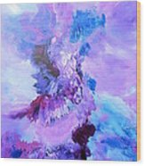 Dance With The Sky Wood Print