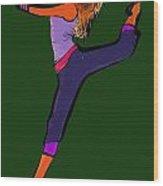 Dancer 21 Wood Print