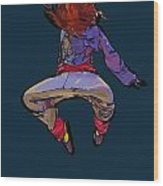 Dancer 30 Wood Print