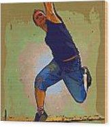 Dancer 50 Wood Print