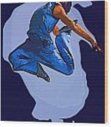 Dancer 56 Wood Print