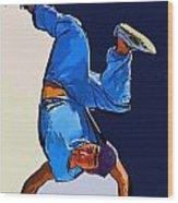 Dancer 57 Wood Print