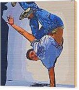 Dancer 60 Wood Print