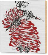 Dancer Wood Print