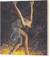 Dancer Viii Wood Print