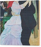 Dancing Couple  Wood Print