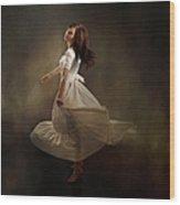 Dancing Dream Wood Print by Cindy Singleton