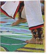 Dancing Feet Wood Print
