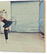 Dancing In A Junk Yard Wood Print