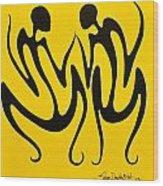 Dancing In Yellow Wood Print