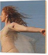Dancing On The Wind Wood Print