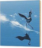 Dancing On Water Wood Print