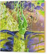 Dancing The Spirit Of Springtime Wood Print