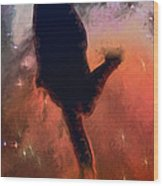 Dancing With The Stars Wood Print