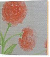 Dandelion Garden  Wood Print