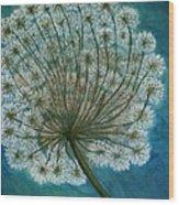 Dandelion Painting     Sold Wood Print