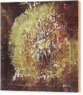 Dandelion Wild Life Wood Print