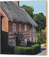 Dane Cottage Nether Wallop Wood Print