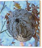 Danger Zone Wood Print