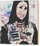 Danica 10 Wood Print