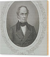 Daniel Webster, From The History Of The United States, Vol. II, By Charles Mackay, Engraved By T Wood Print