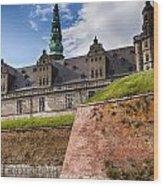 Danish Castle Kronborg Wood Print