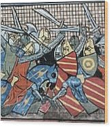 Danish Defeat. Illustration Wood Print