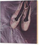 Danse Classique Wood Print by Priska Wettstein