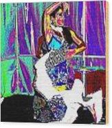 Danseuse  Wood Print