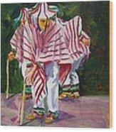 Danza De Los Viejitos Wood Print