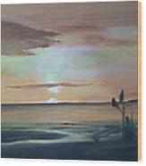 Dapitan Sunset Wood Print