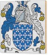 Darcy Coat Of Arms II Irish Wood Print