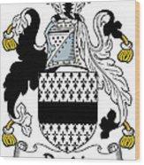 Dardis Coat Of Arms Irish Wood Print