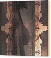 Dark Angel's Crossing Wood Print